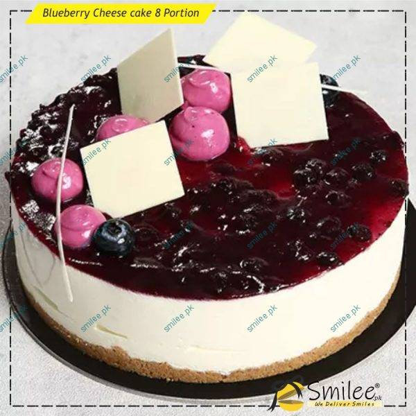 blueberry cheese cake 8 portion