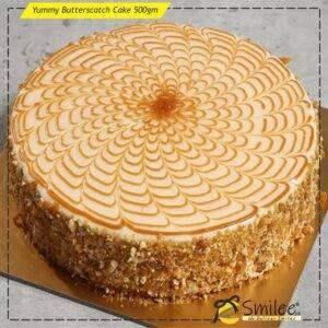 yummy butterscotch cake 500gm