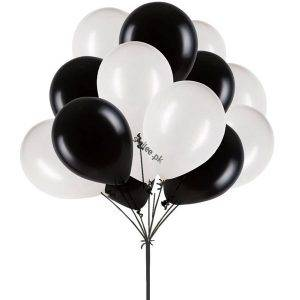 black-and-white-balloons