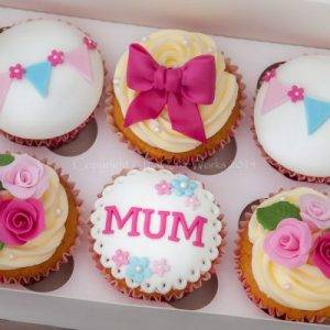 Designer Cup cakes 6pcs