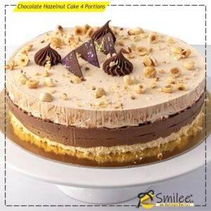 chocolate hazelnut cake 4 portions