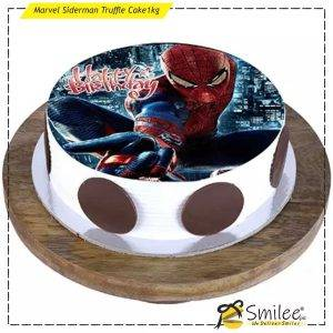 marvel siderman truffle cake1kg