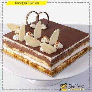 mocha cake 4 portions
