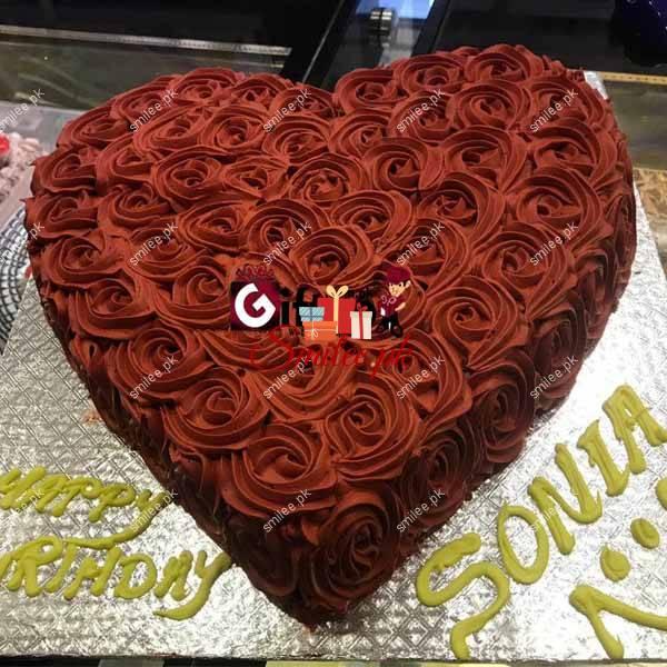 Love Heart shape Cake 3 LBS
