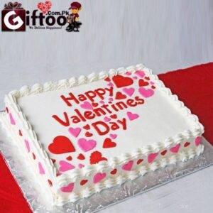 Valentines Day Cake 4 Pounds